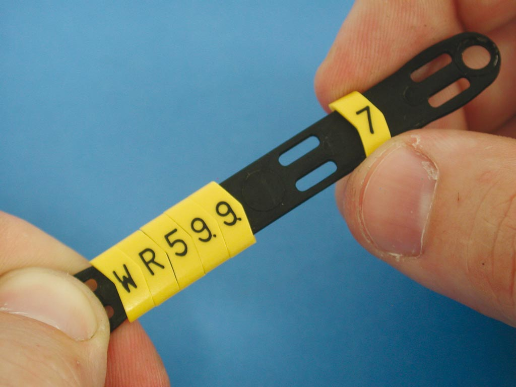 Unprinted Push-On Ring Cable Marker RMS-03 59748 10 Packs of 500 pcs Cembre 4387710