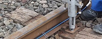 Drills for drilling wooden sleepers