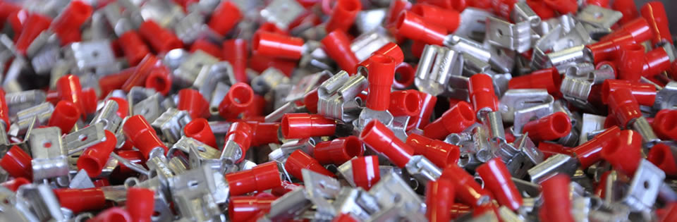 Home Capic Red on Battery Terminal Parts