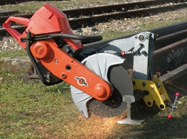 AUTOMATIC RAIL DISC SAW ROBOKATTA
