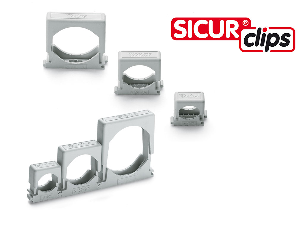 Cable & conduit accessories SICURclips